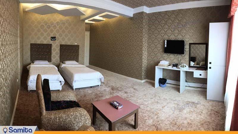 اتاق دو تخته رویال هتل خلیج فارس رضوان