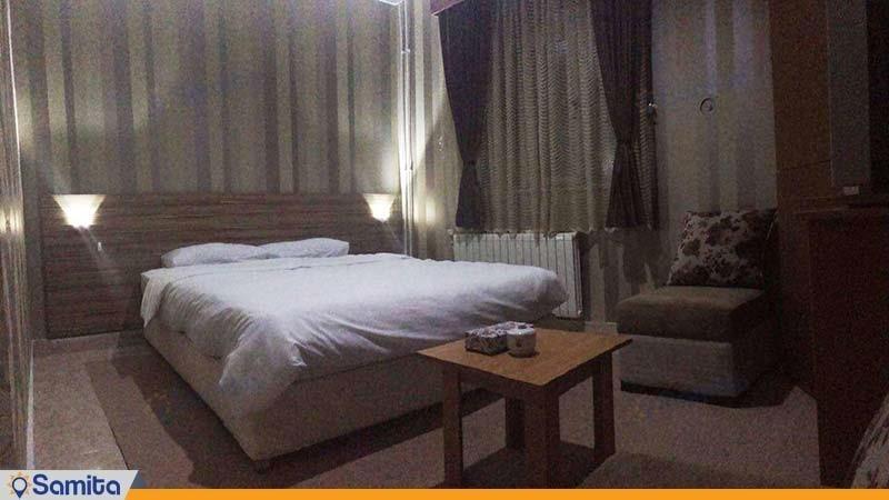 اتاق یک نفره هتل خلیج فارس رضوان