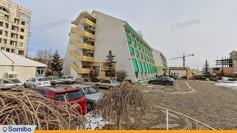 نمای ساختمان هتل بین المللی لاله