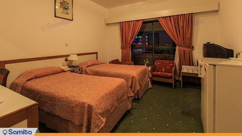 اتاق توئین هتل بین المللی لاله