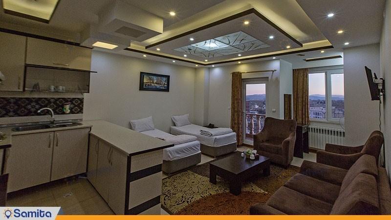 آپارتمان یک خوابه هتل پدرام
