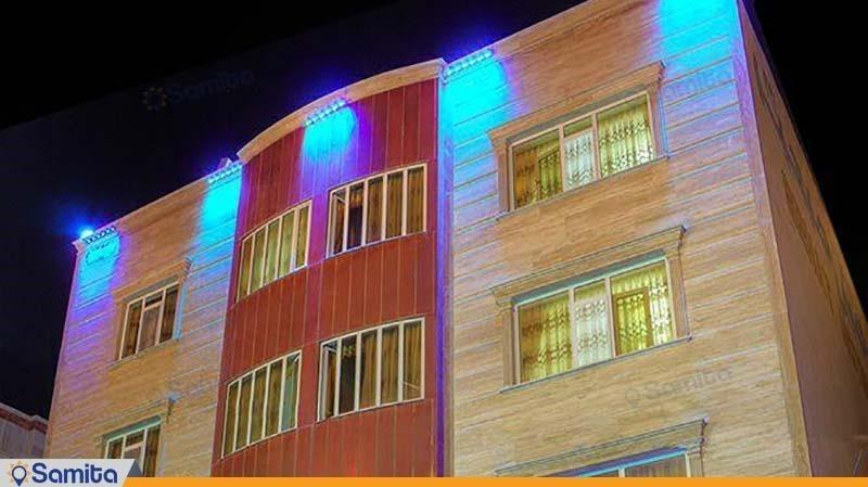 نمای ساختمان هتل صحت
