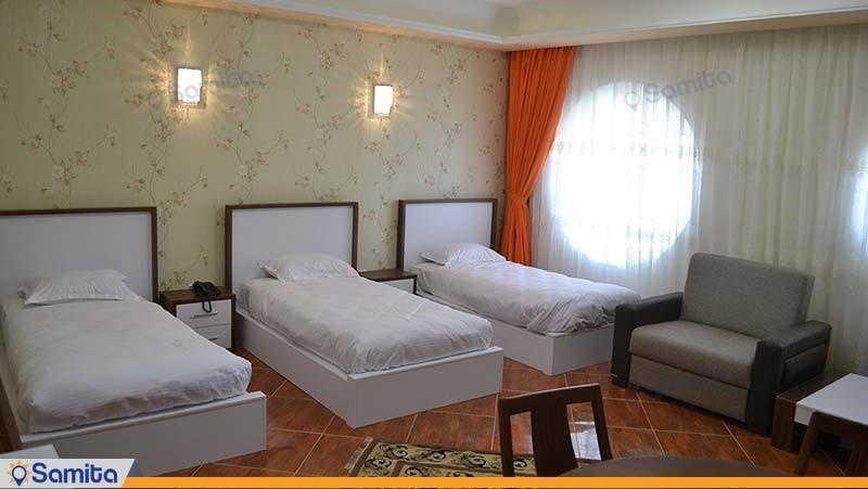 اتاق سه تخته هتل گوت که مال