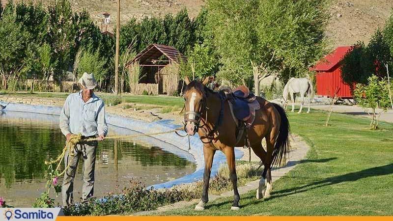 اسب سواری هتل پولاد کف