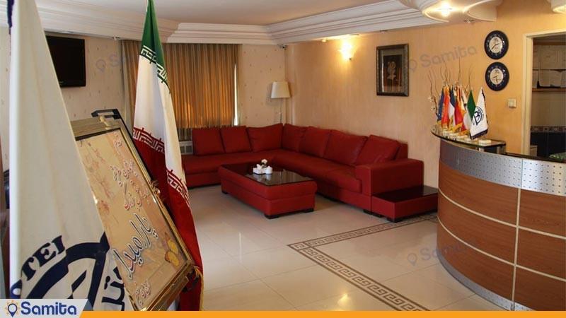لابی هتل بزرگ پارمیدا