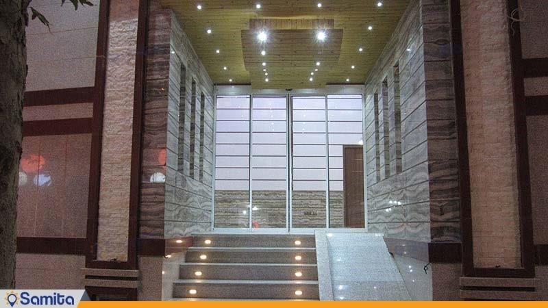 ورودی هتل رویال شاهرود