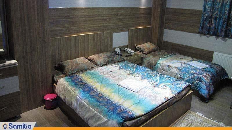 اتاق سه تخته هتل رویال شاهرود