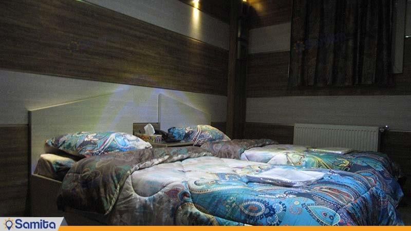 اتاق دو تخته هتل رویال شاهرود