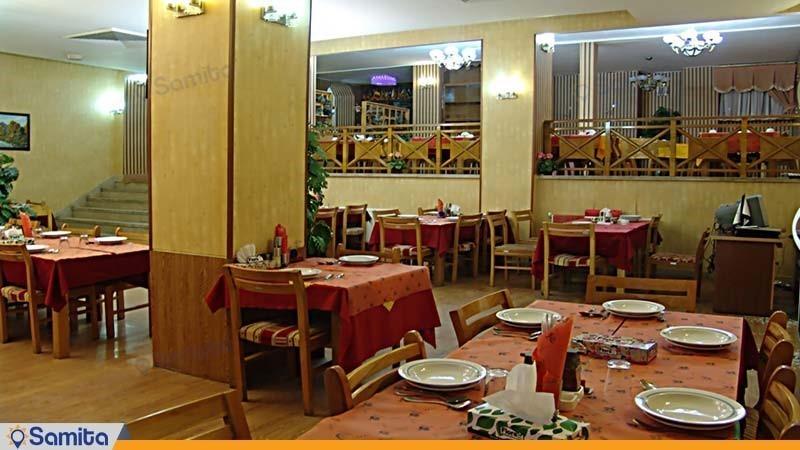 رستوران هتل جهانگردی شاهرود