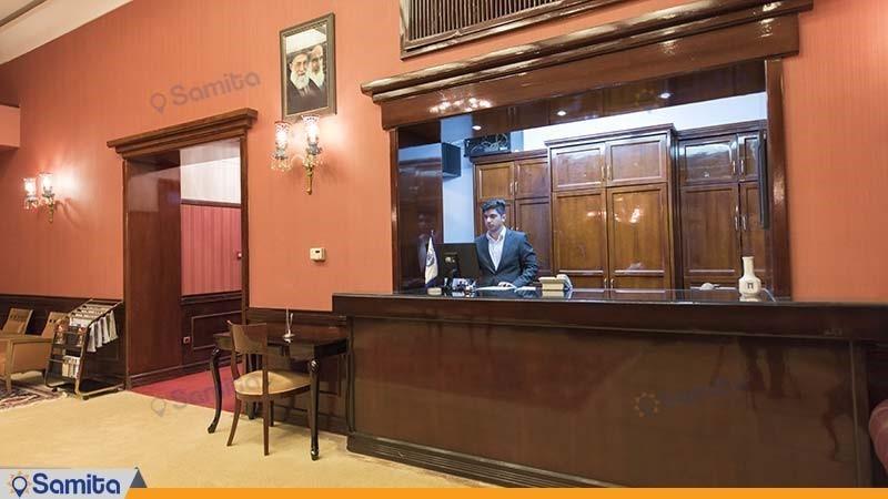 پذیرش هتل آپادانا پرسپولیس