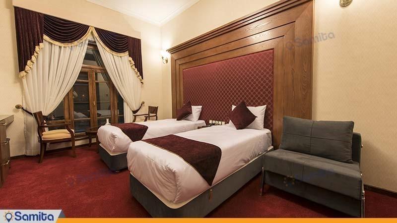 اتاق دو تخته هتل آپادانا پرسپولیس