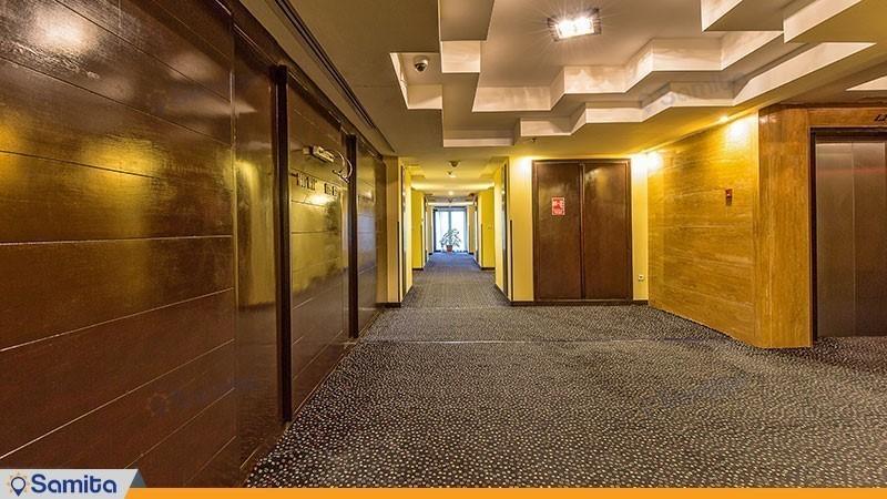 راهرو هتل بزرگ چمران