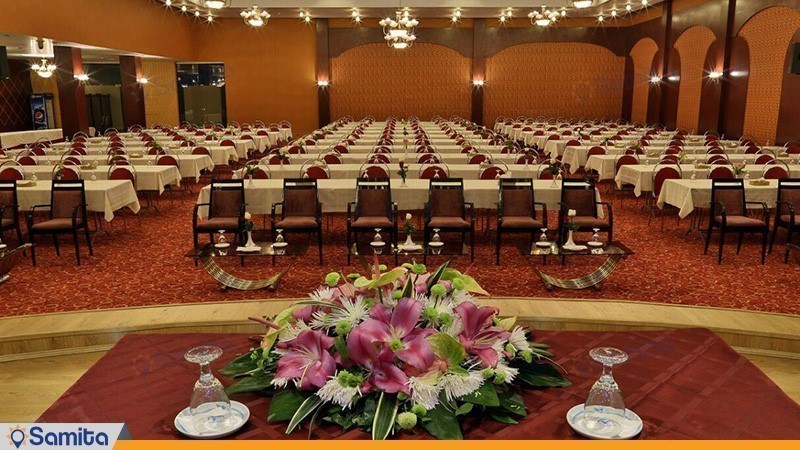 سالن کنفرانس رسالت هتل هما شیراز