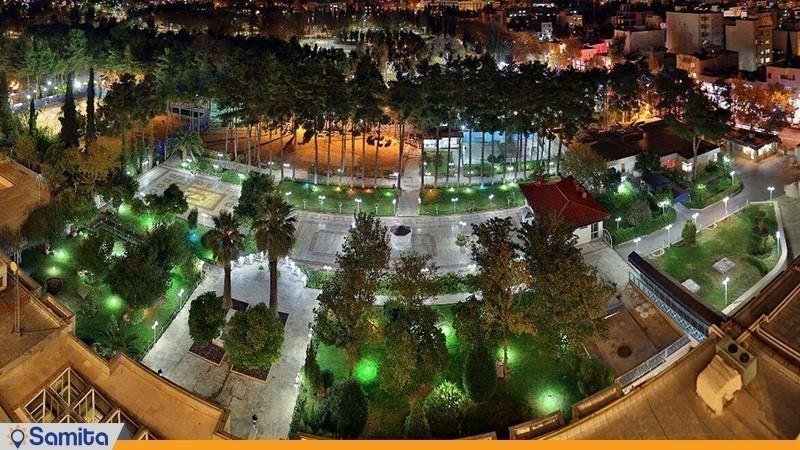 نمای هتل هما شیراز