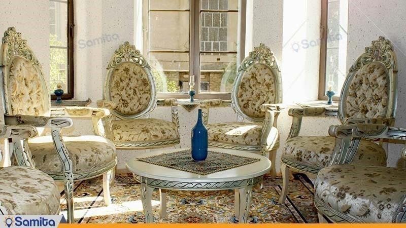 اتاق اقامتگاه بوم گردی خانه باغ ایرانی