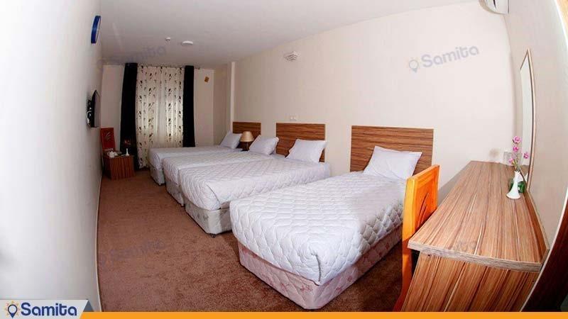 اتاق چهار نفره هتل نصیر الملک