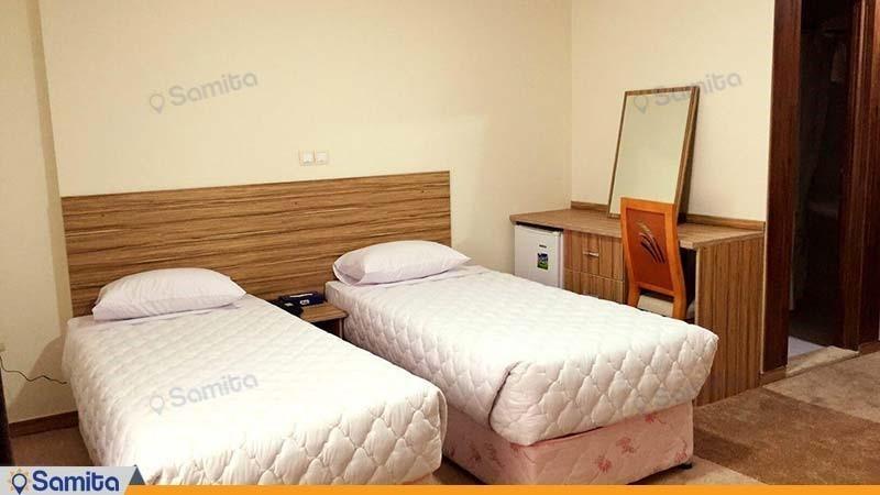 اتاق دو نفره هتل نصیر الملک