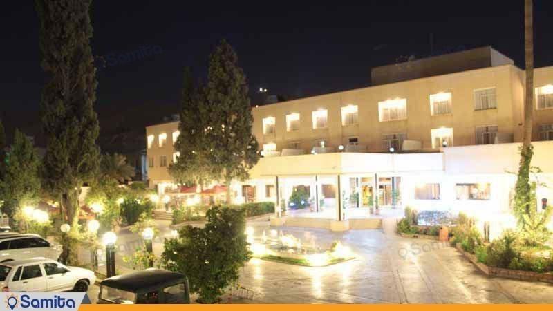 نمای هتل پارک سعدی