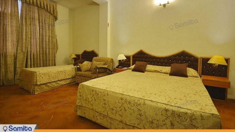 اتاق سه تخته هتل پارک سعدی