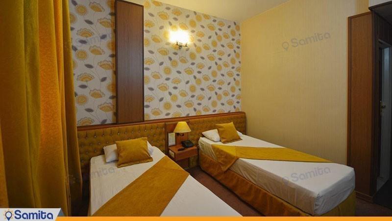 اتاق دو تخته هتل پارک سعدی