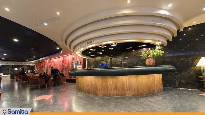 کافی شاپ هتل بین المللی پارس شیراز
