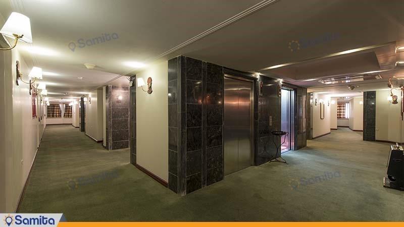 راهرو هتل بین المللی پارس شیراز