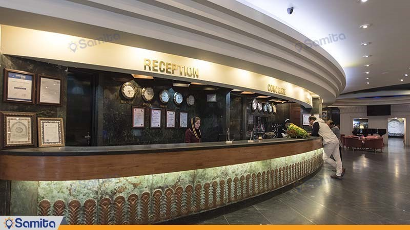 پذیرش هتل بین المللی پارس شیراز