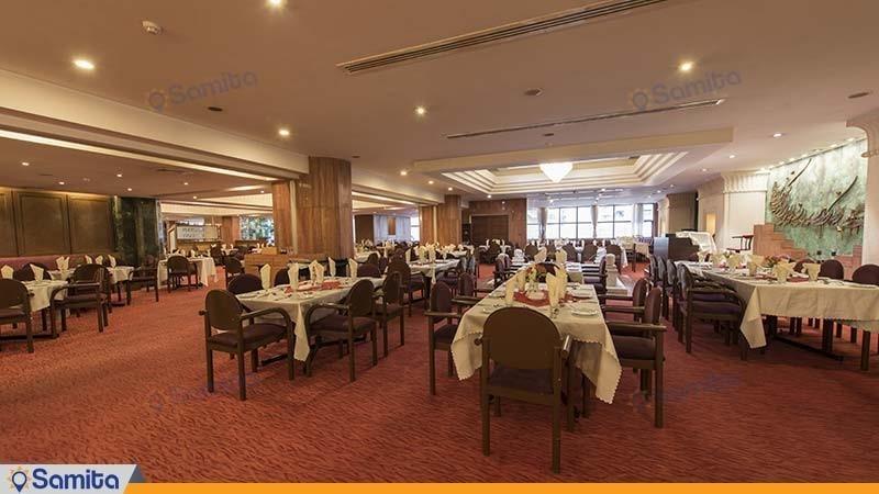 رستوران هتل بین المللی پارس شیراز