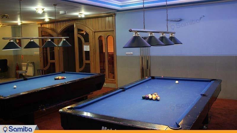 سالن بیلیارد هتل پاسه شیراز