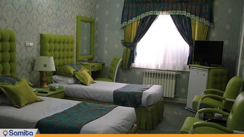 اتاق دو نفره هتل پاسه شیراز