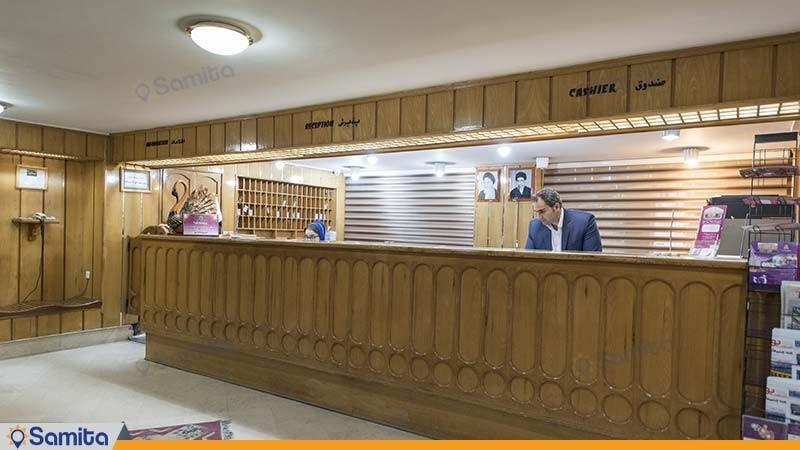 پذیرش هتل پارسیان شیراز