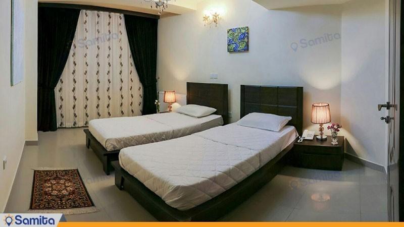 اتاق دو تخته هتل آپارتمان رز ریحان