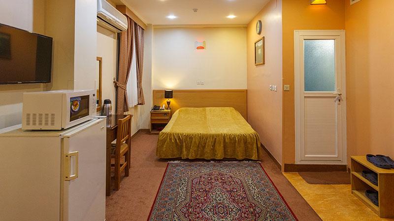 سوئیت دو نفره هتل ساسان