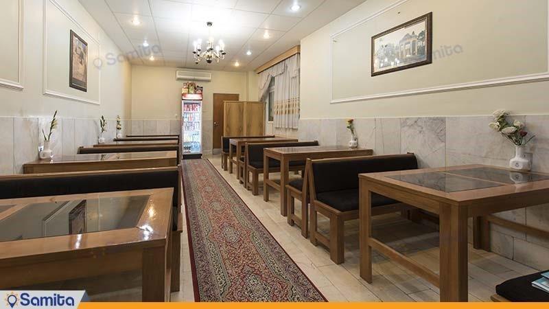 رستوران هتل ساسان شیراز