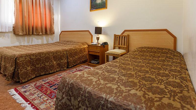 اتاق دو تخته توئین هتل ساسان