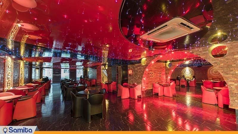 کافی شاپ هتل ستارگان شیراز