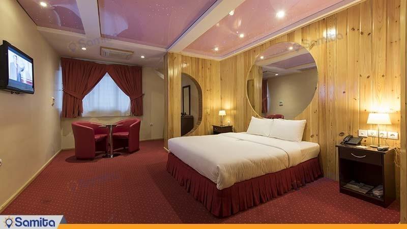اتاق ماه عسل هتل ستارگان شیراز