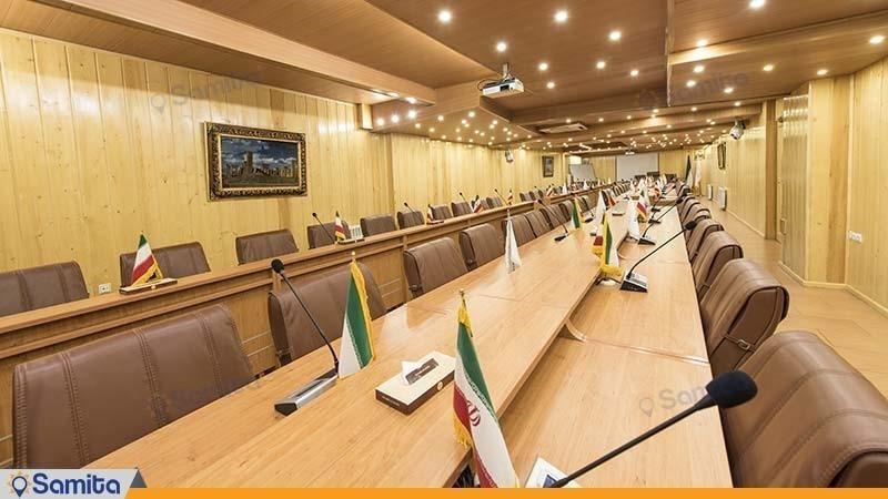 اتاق جلسات هتل ستارگان شیراز