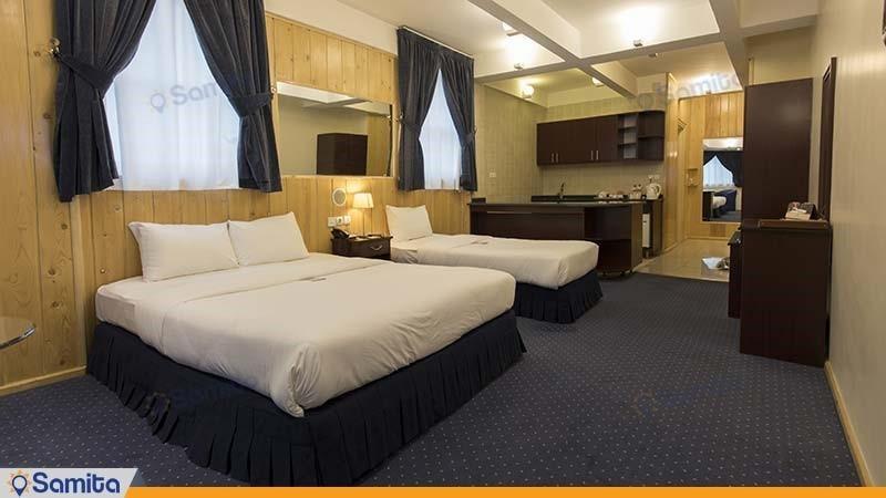 سوئیت مدرن هتل ستارگان شیراز