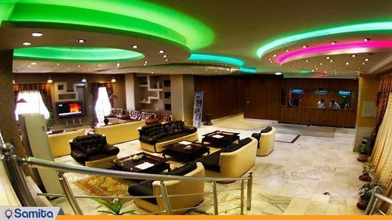 لابی هتل آپارتمان پارس شیراز
