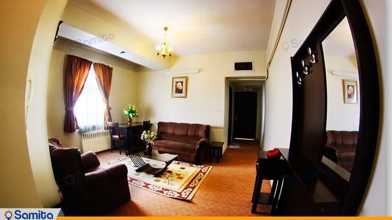 آپارتمان یک خوابه هتل آپارتمان پارس شیراز