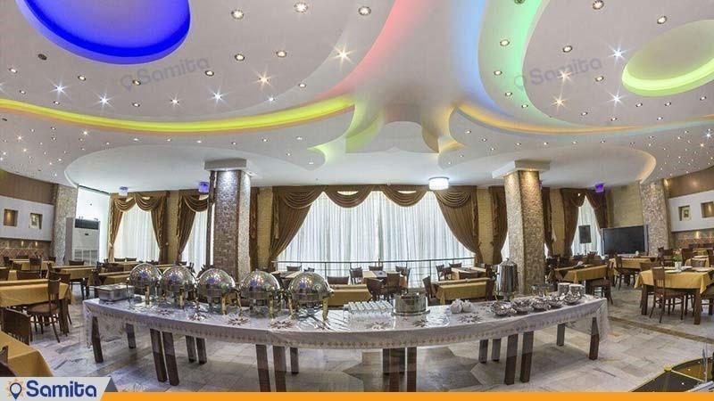 رستوران هتل آپارتمان پارس شیراز