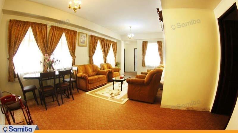 آپارتمان دو خوابه هتل آپارتمان پارس شیراز