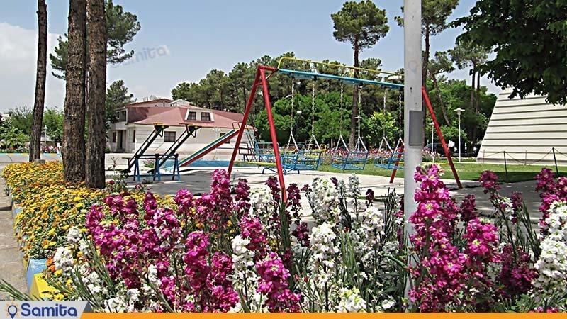 زمین بازی کودکان مجتمع جهانگردی شیراز