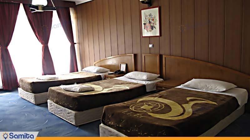 اتاق دو تخته معمولی مجتمع جهانگردی شیراز