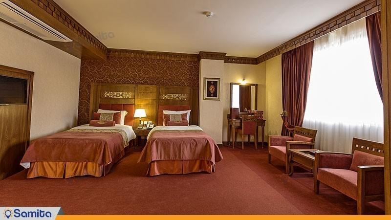 اتاق دوتخته هتل زندیه