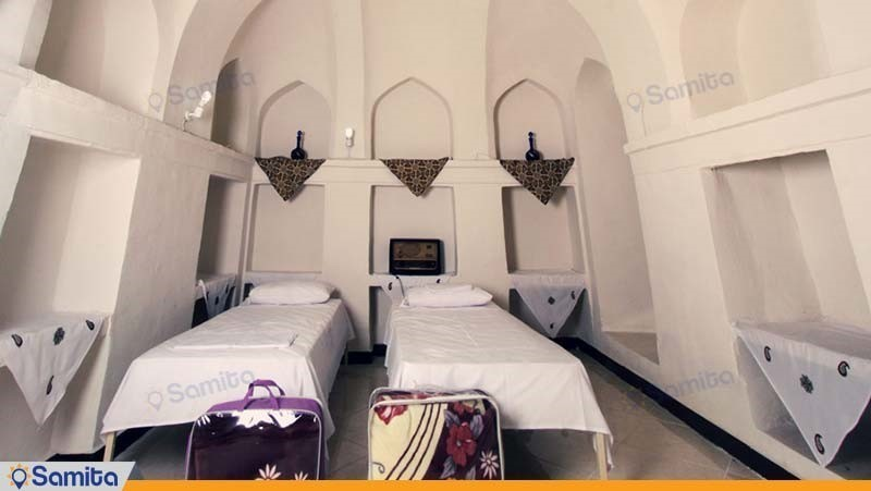 اتاق دو تخته هتل سنتی خانه سرابی