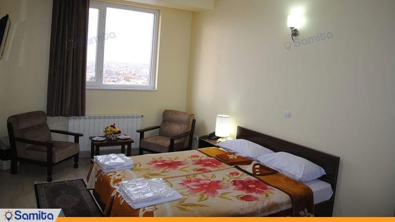 اتاق دبل هتل آپارتمان استقبال