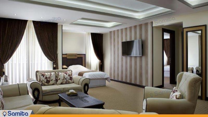 سوئیت vip پنج تخته هتل بین المللی گسترش
