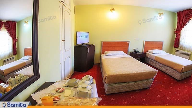 اتاق دو تخته هتل جهانگردی جلفا